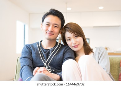 Couple full of affectionate affection