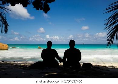 A couple in a Honeymoon