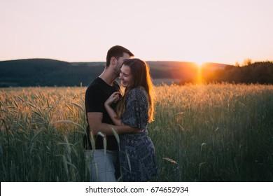 Couple amoureux, couple heureux.