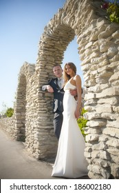 couple in love wedding