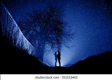 Couple in the night