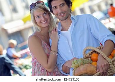 Couple on the market