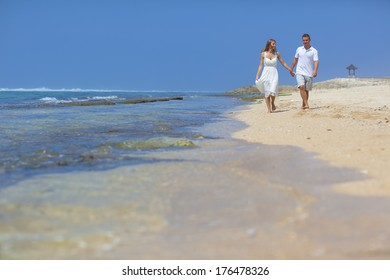 Couple on a tropical beach