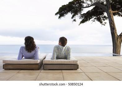 Imágenes Fotos De Stock Y Vectores Sobre Terraza Alberca