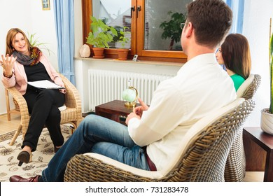 Couple Seeing A Psychotherapist
