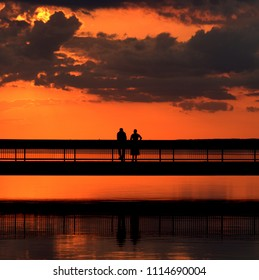 A couple shares one of those special subset moments
