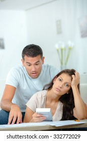 Couple struggling to make ends meet