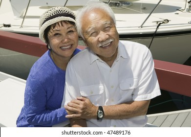 Couple Together in Marina