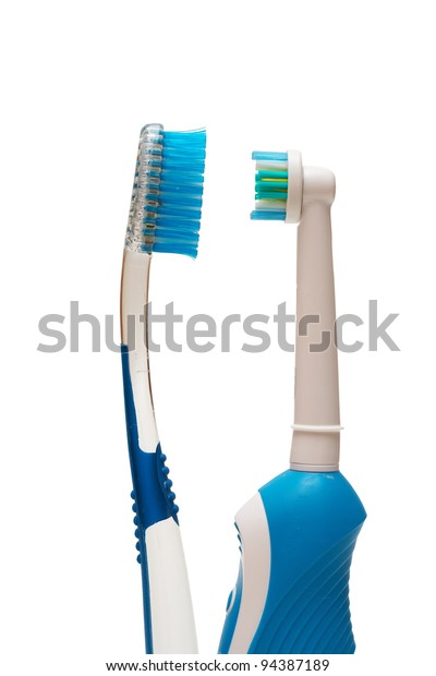 Couple of toothbrushes