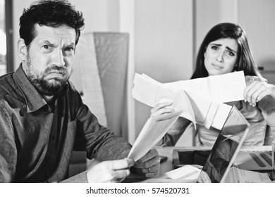 Couple unhappy about taxes