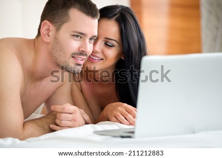 Couple watching porn