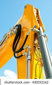 Coupling element tubes in the hydraulic system of the tractor. Hydraulic pressure pipes system of construction machinery
