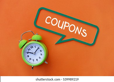 Coupons, Business Concept