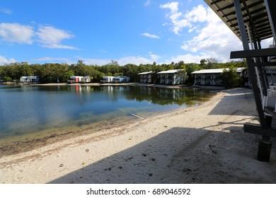 Couran Cove Island Resort on South Stradbroke Island in Queensland Australia