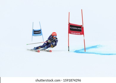 Courchevel France, Dec 17 2019 Federica Brignone winner competing in the Audi FIS World Cup 2019/20 Womens Giant Slalom