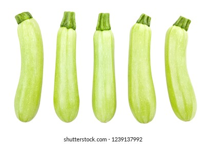 courgette path isolated