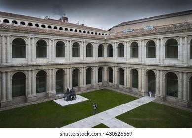 Court Herreriano Valladolid Spain