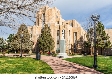 Court House, Boulder, Colorado, USA. Full view.