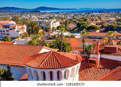 Court House Building Santa Barbara, California