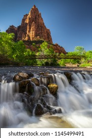 Court of the Patriarchs, Zion National Park, Utah, USA