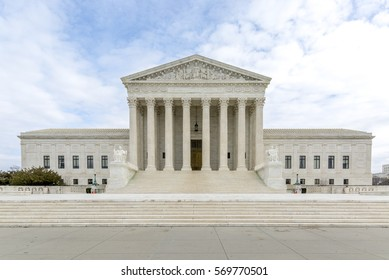 The Supreme Court of the United States SCOTUS located on 1st Street N.E. Washington DC is the highest federal court of the United States.