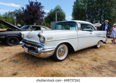 Courtenay~Vancouver Island,BC, Canada, July 23rd 2017 Comox Valley Classic Cruisers Show & Shine held at the Comox Valley Exhibition Grounds ~Vancouver Island,BC, Canada