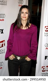 "Courteney Cox attends the Season Two Premiere Screening of ""Dirt"" held at he ArcLight Theater in Hollywood, California, United States on February 28, 2008."