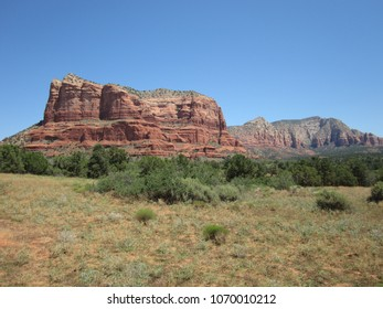 Courthouse Rock in Sedona