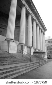 Courthouse Steps and Pillars