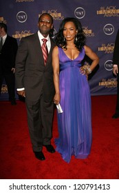Courtney B. Vance and Angela Bassett at the 2006 TNT Black Movie Awards. Wiltern Theatre, Los Angeles, CA. 10-15-06