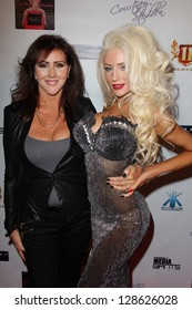 """Courtney Stodden and her mother Krista Kay Keller Stodden at the World Premiere party for Courtney Stodden's """"REALITY"""" Music Video, Eleven Nightclub, West Hollywood, CA 02-09-13"""