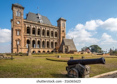 Courtyard of Royal palace complex -  Rova of Antananarivo, Madagascar