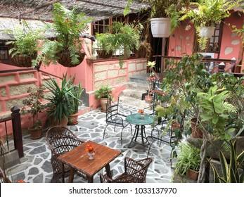 courtyard rural house
