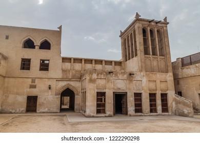 Courtyard of Shaikh Isa Bin Ali Al Khalifa house in Muharraq, Bahrain
