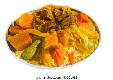 cous cous with meat
