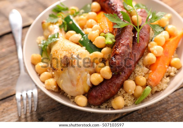 couscous with chicken and sausage