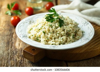 Couscous with herbs