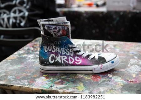 14fba991e40e Covent Garden London UK Sept 2018 Stock Photo (Edit Now) 1183982251 ...
