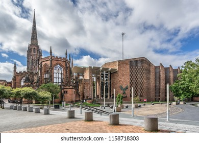 Coventry Cathedral in the county of Warwickshire England