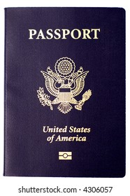 The cover of a new (2007) US Passport.