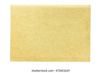 Cover notebook isolated on white background