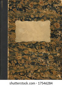 cover of old handwritten book