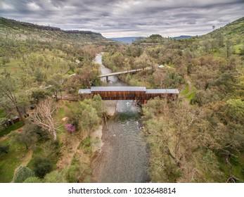 Covered Bridge Butte Creek
