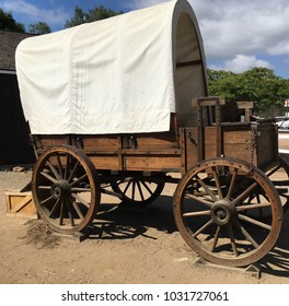 Covered Wagon Without Hitch