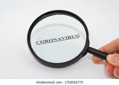 COVID-19 Coronavirus Disease. Exploring and attention for coronavirus concept with copy space