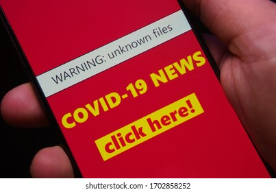 COVID-19 fake news (internet scam)