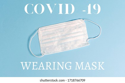 COVID-19 and infection Anti-virus protection mask