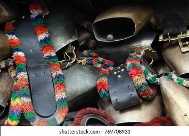 cow bells at almabtrieb