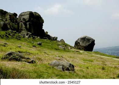 Cow & calf rocks, Ilkley