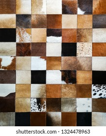 Cow skin background in fashion and crafts markets.